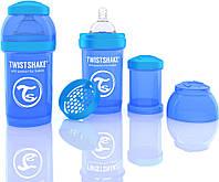 Антиколиковая бутылочка 180ml Blue - TWISTSHAKE, фото 1