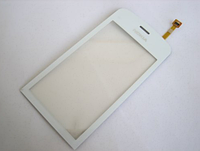 Тачскрин / сенсор (сенсорное стекло) для Nokia C5-03 | C5-06 (белый цвет, самоклейка)