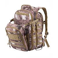 Рюкзак тактичний Yakeda® (система MOLLE) 60л.  A -TACS AU