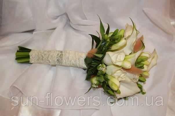 Весільний букет з калами