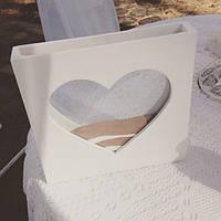 Рамка сосуд для песочной церемонии, большая