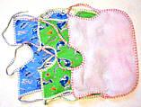 Слюнявчики на зав'язках (великі), фото 2