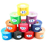 Кинезио тейп ( Kinesio Tape ) 5 см х 5 м, 7.5см х 5м, 10см х 5м