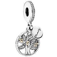 Шарм-подвеска Pandora Семейное дерево, Пандора серебро