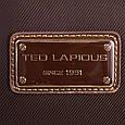 Классическая женская сумка в коричневом цвете, ткань Ted Lapidus FRHNY4085H14-10, фото 7