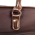 Классическая женская сумка в коричневом цвете, ткань Ted Lapidus FRHNY4085H14-10, фото 8