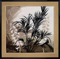 №425 Триптих Пальмовые листья