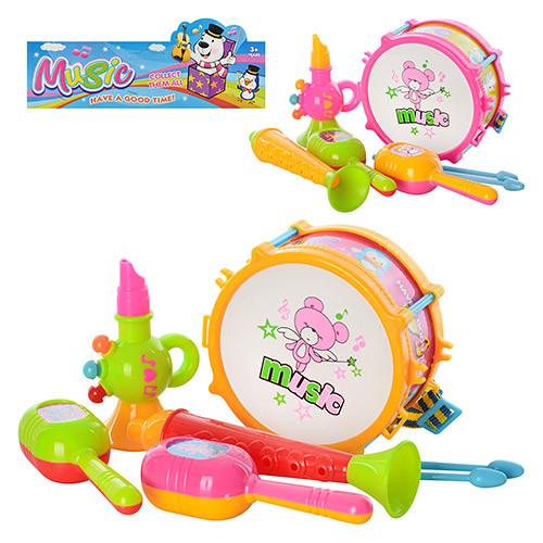 Детские музыкальные инструменты игрушечные
