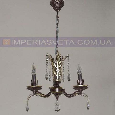 Люстра со свечами хрустальная IMPERIA трехламповая LUX-533432