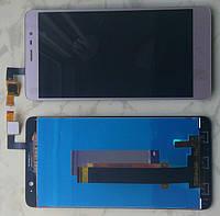 Дисплей модуль Xiaomi Redmi Note 3 в зборі з тачскріном, золотистий
