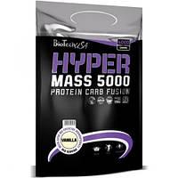 Гейнер HYPER MASS 5000 Ваниль BioTech 1000 гр