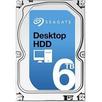 Накопитель HDD SATA 6.0TB Seagate Desktop HDD 7200rpm 128MB (ST6000DM001)