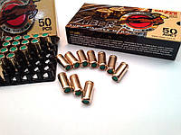 Холостые патроны. Патрон Zuber, 9 мм, пистолетный холостой, 50 шт. Холостой пистолетный патрон Ozkursan