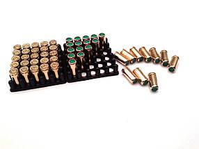 Холостые патроны. Патрон Zuber, 9 мм, пистолетный холостой, 50 шт. Холостой пистолетный патрон Ozkursan, фото 3