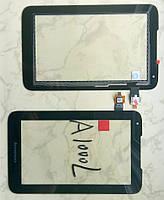 Lenovo A1000L сенсорний екран, тачскрін чорний