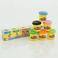 Тесто для лепки 6601-6 6 цветов 882 г