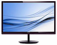 "Монитор Philips 28"" 284E5QHAD/01 MVA Black; 1920x1080, 4 мс, 300 кд/кв.м, D-Sub, HDMI, колонки 2*7W"