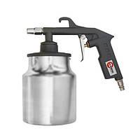 Пистолет пескоструйный пневматический; бачок INTERTOOL PT-0705