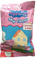 """Игрушка для детей """"Peppa Pig. Мир Пеппы"""" - Гостиная и кухня (домик, мебель, фигурка), фото 1"""