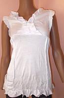 Блуза летняя с рюшами L/XL