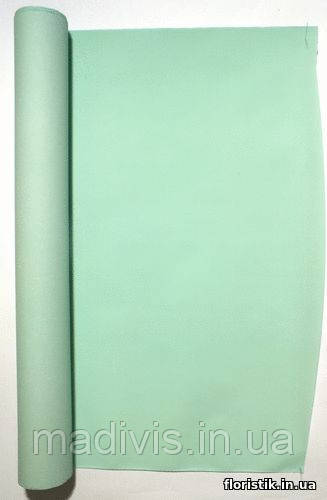 "Крафт-бумага ""Ретро"", ментол, 50 см."