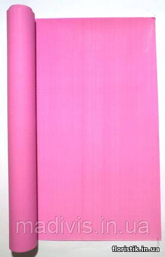 "Крафт-бумага ""Ретро"", ярко-розовая, 50 см."