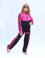 Детский спортивный костюм унисекс в популярным принтом три полоски.