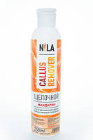 Nila Callus remover щелочной, Мандарин,  250 мл, фото 1