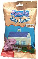 """Игрушка для детей """"Peppa Pig. Мир Пеппы"""" - Школа (домик, мебель, фигурка)"""
