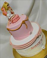 Детский торт на день рождения   Принцесса для девочки