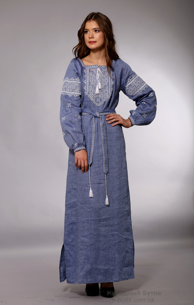 Платья с вышивкой - Так Просто! 10