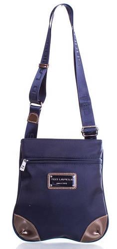 Стильная сумка-планшет через плечо, ткань Ted Lapidus FRHNY4004H15-6 синий