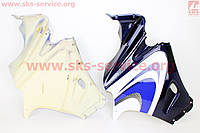 Пластик передний боковой левый и правый  комплект  на мотоцикл Defiant - Renspeed