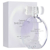 Женская туалетная вода Calvin Klein Sheer Beauty Essence (Кельвин Кляйн Шер Бьюти Эссенс)