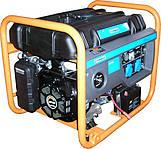Бензогенератор Q-POWER QPG6000Е 5,0 (5,5) кВт