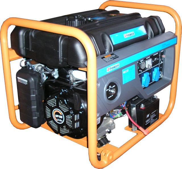 Гибридный генератор (газ-бензин) Q-POWER QPG6000НЕ 5,0 (5,5) кВт, фото 1