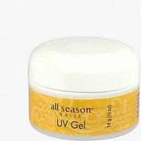 Гель для наращивания ногтей UV GEL All Season камуфлирующий 15g
