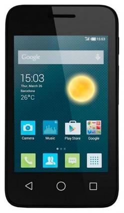Мобильный телефон Alcatel 4009D Volcano Black , фото 2