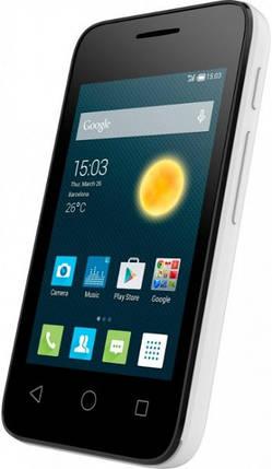 Мобильный телефон  Alcatel 4009D White , фото 2