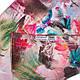 Легкий женский шелковый шарф, двусторонний 170 на 46 см Eterno ES2707-1-9 разноцвет, фото 3