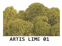 Стабилизированный мох. Цвет Artis Lime 01
