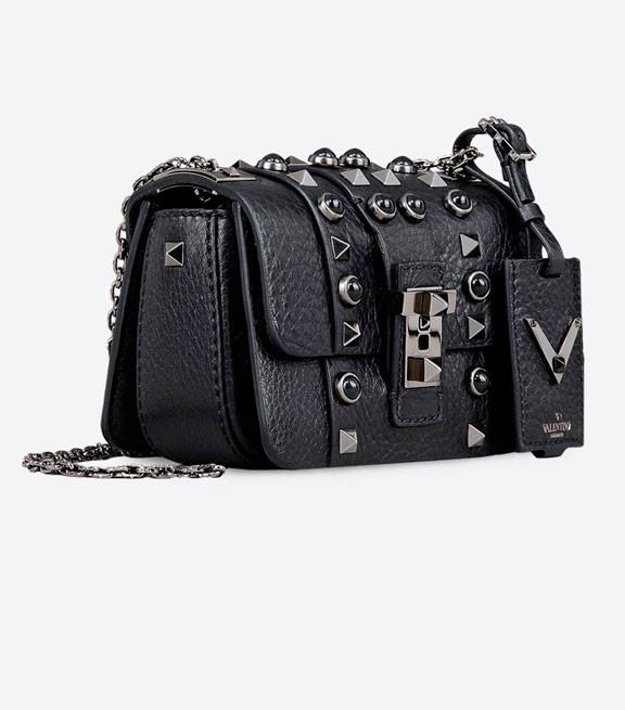 Женская мини-сумочка B-Rockstud от Valentino Garavani