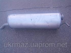 Глушитель на Peugeot 307 1.6i-16V хэтчбек алюминизированный (Polmostrow)