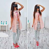 Пиджак женский без рукавов 33154 Пиджаки женские