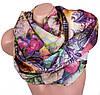 Красочный женский шелковый шарф, двусторонний 172 на 47 см Eterno ES2707-1-3 разноцвет