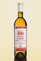 Вино крепленное сухое белое Херес Флёр Винодельческая станция