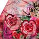 Шикарный женский шелковый шарф, двусторонний 173 на 47 см Eterno ES2707-1-8 разноцвет, фото 4