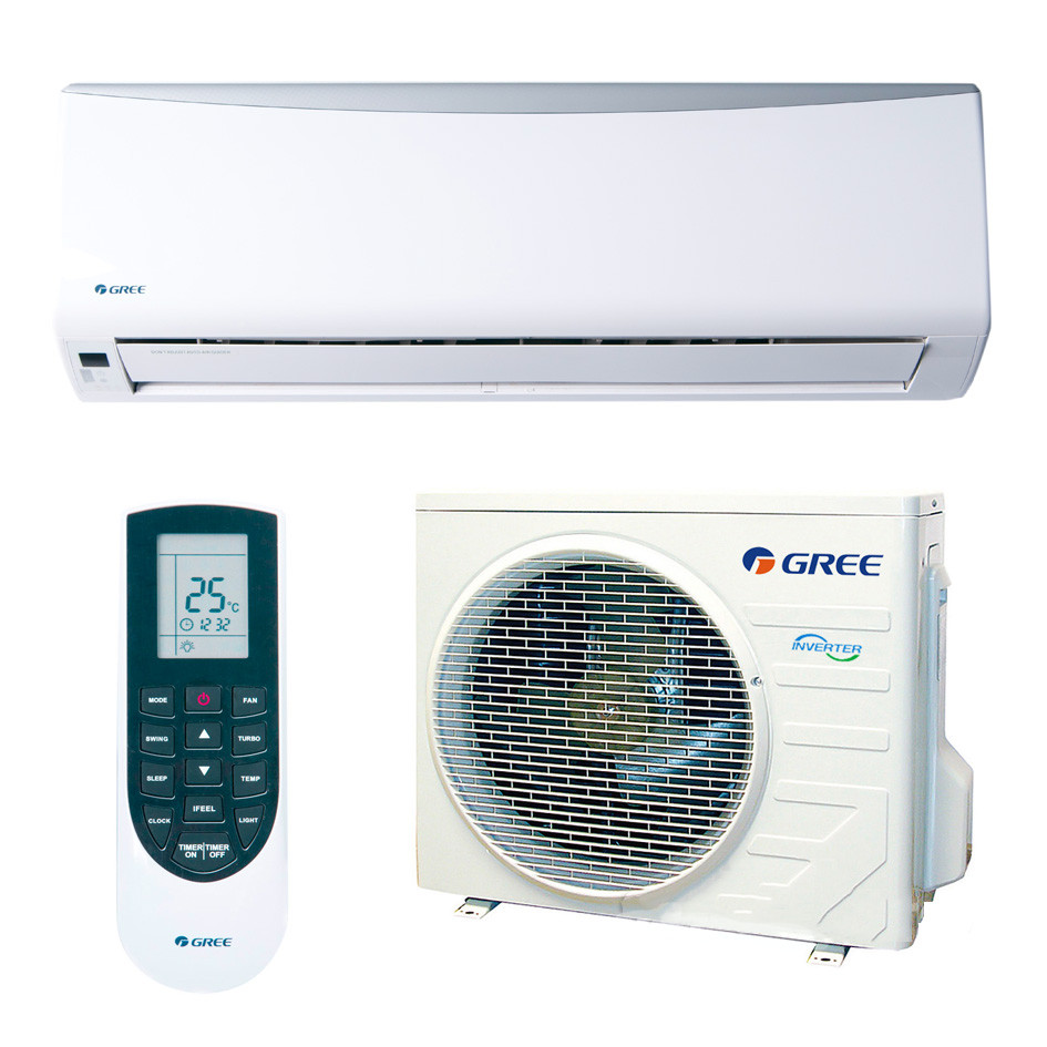 Кондиціонер Gree GWH12QC-K3DNA2G Praktik Pro inverter