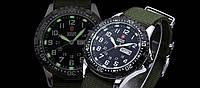 Армейские тактические часы Shark Army Black японский механизм
