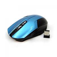 Беспроводная игровая мышь мышка Havit HVMS927 Blue, фото 1
